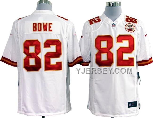 98b96bcbf ... Nike NFL Jerseys Kansas City Chiefs Dwayne Bowe White,Womens Nike NFL  Jerseys wholesale ...