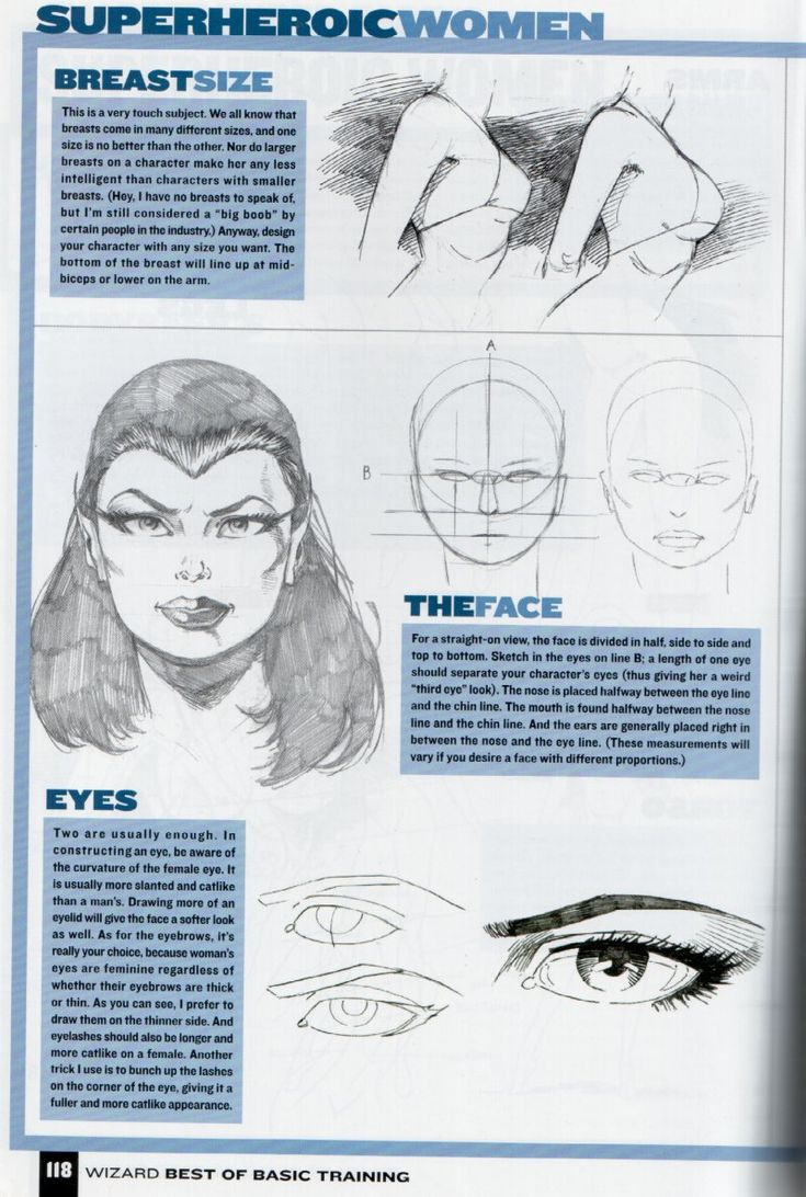 how to draw female comic characters - Google Search