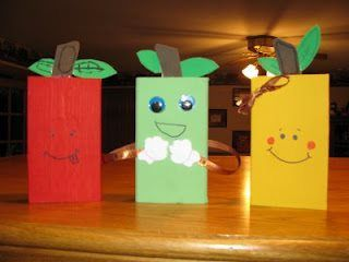 apple craft ideas for kids (8)