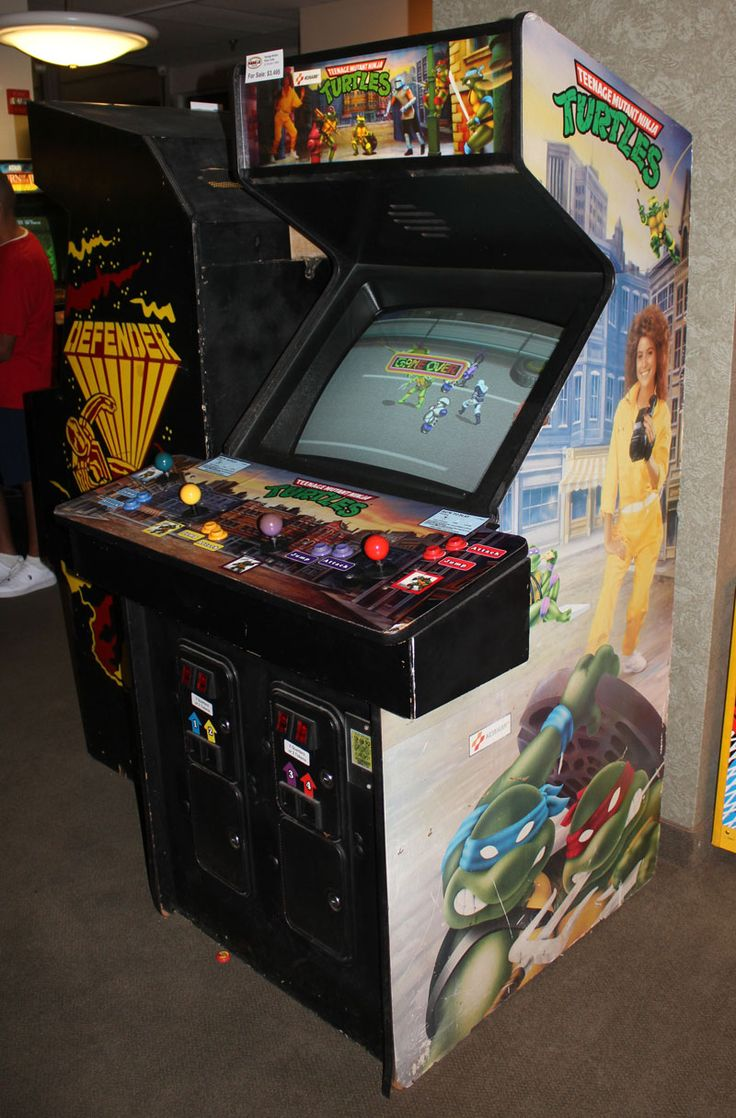 Teenage Mutant Ninja Turtles Arcade Game: $3,495 I WANT THIS SOOOO BAD