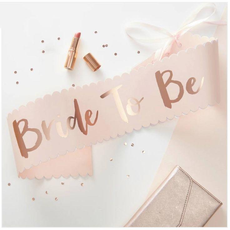 bride to be skærf