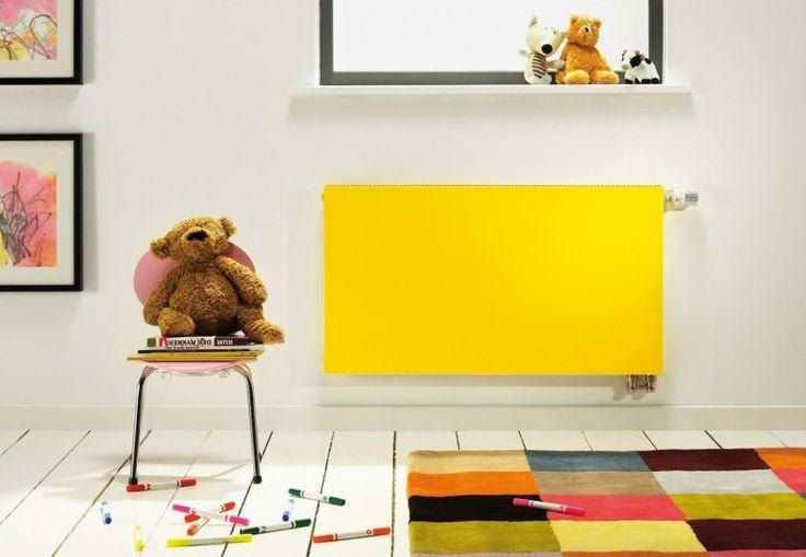 Kolorowy grzejnik w pokoju dziecka Fot.: Purmo