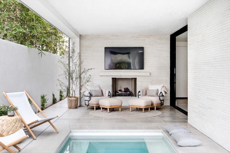 In The Nick Of Time California Home Design House Design Home Living Room With Fireplace