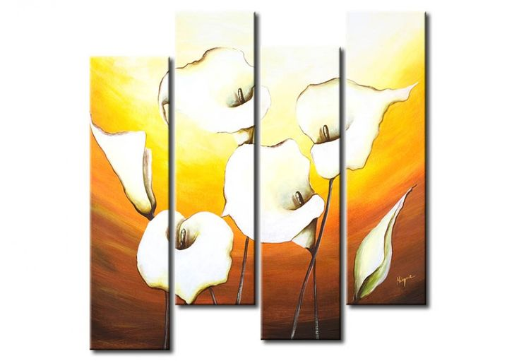 Floral compositions on handmade paintings - a new bimago collection #handmadepaintings #acrylicpaintings #paintings #floralpaintings #canvasart