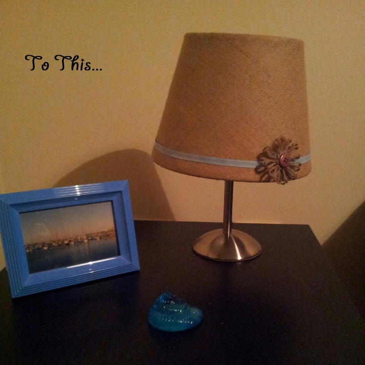 H@Home: Table Lamp Revamp!