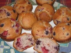 Muffin explosion de fruits