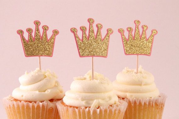 Hey, I found this really awesome Etsy listing at https://www.etsy.com/listing/181113142/gold-crown-cupcake-toppers-set-of-12