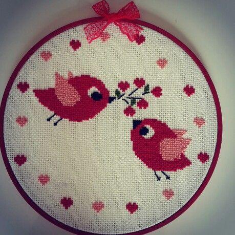 Kuşlar bird embroidery