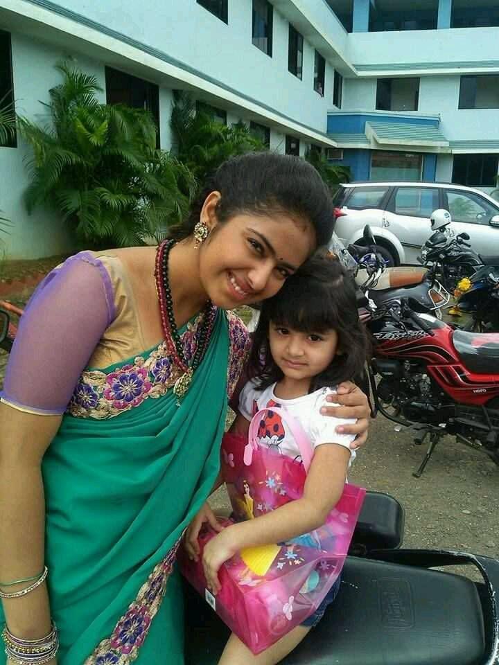 Avika Gor With Cute Baby
