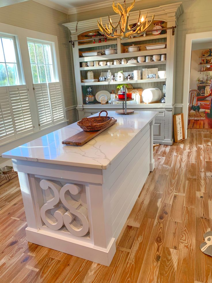Best Beautiful White Kitchen Island Granite Top With Open 400 x 300