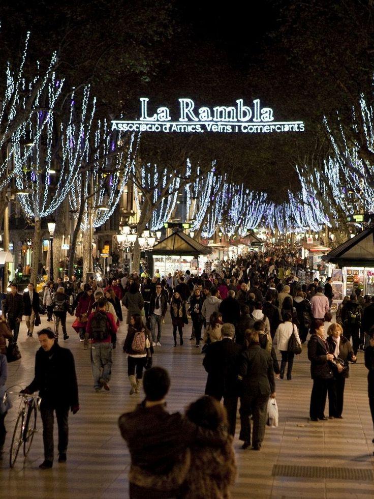 Barcelona Christmas Lights