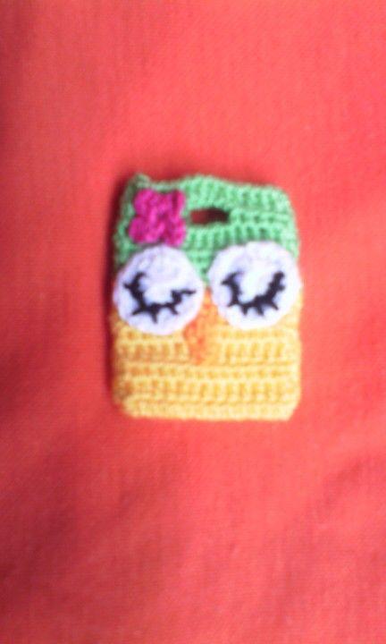 Mini bolso a crochet
