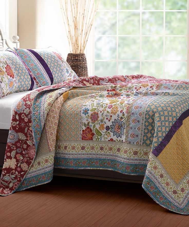 Greenland Home Fashions Genesis Quilt Set Zulily King