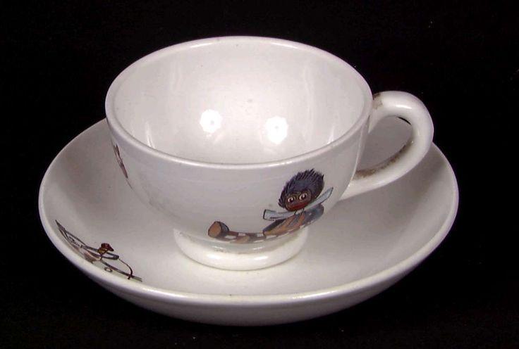 Dukkestell, kopp og skål @ DigitaltMuseum.no