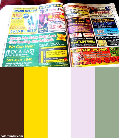 Ads+For+So-called+Pain-clinic+Vicodin+Factories,+Free+Weekly+Paper,+Cafe,+Delray+Beach,+Florida,+Usa+5.jpg+Color+Scheme