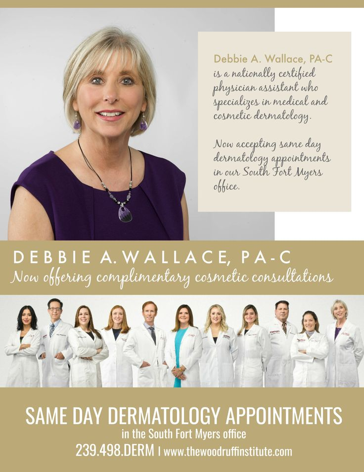"""Did someone say, """"Same Day Dermatology Visits?!"""" Debbie A"""