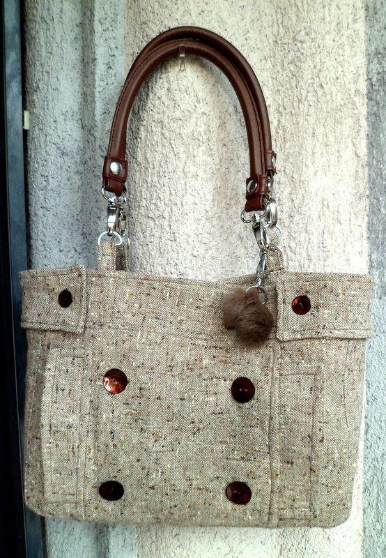 Mademoiselle - sac à main - syllvoch - Fait Maison