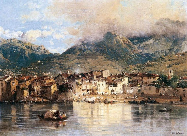 Το χωριό Pescarenico (1864)
