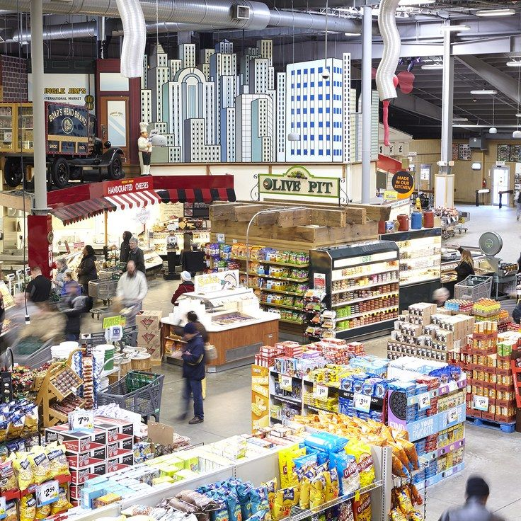 Among the 180,000 products are 800 different kinds of produce, 140 types of honey, 1,400 types of hot sauce, 15,000 different labels of wine, 1,400 cheeses, and 4,000 local and craft beers. ~ Jungle Jim's and the Art of the Tourist-Attraction Grocery Store