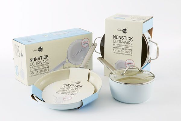 Non-Stick Cookware Packaging on Packaging Design Served