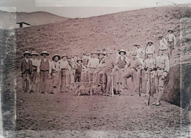POW, Diyatalawa kamp, Ceylon.