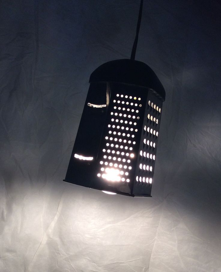 grater hanging light