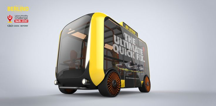 Berlino. Smart mini-bus system on Behance