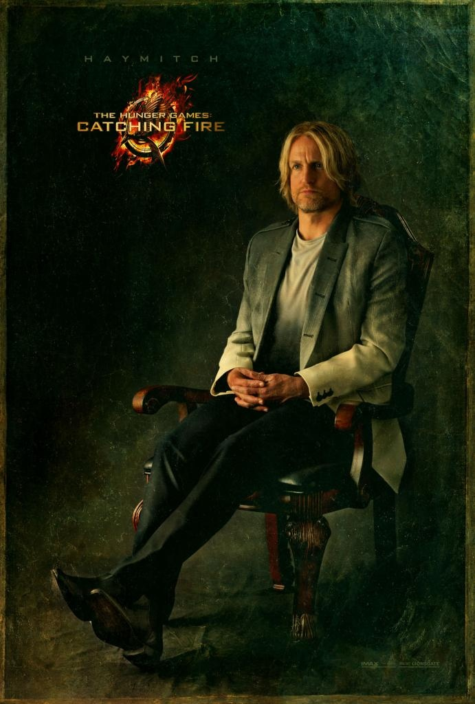 The Hunger Games Catching Fire portrait - Haymitch