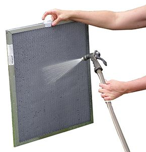 Electrostatic air filters clean - Air-Duct-Cleaning-Denver.