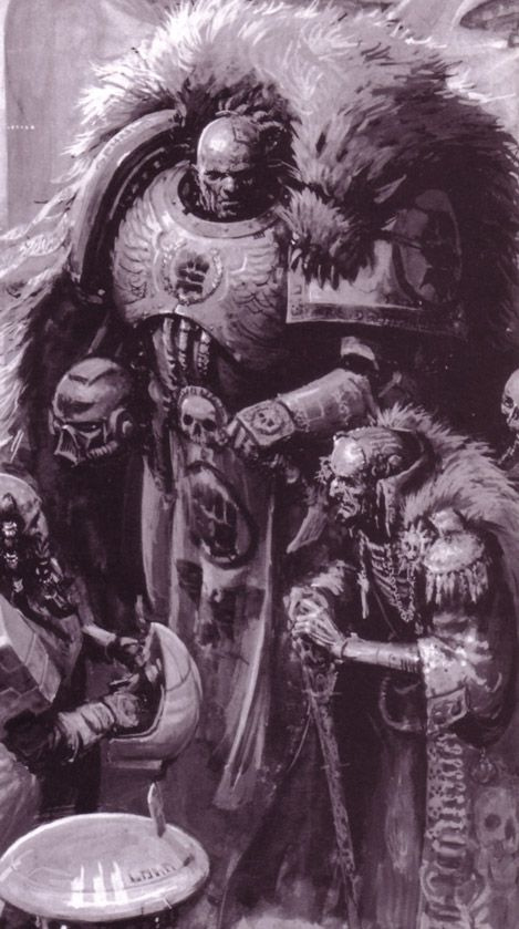 40k Space Marine Imperial Fists artwork