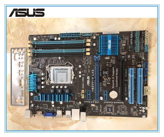 Placa mãe ASUS P8Z77-V LX2 placas com porta VGA USB3.0 Z77 LGA 1155 DDR3 desktop motherboard frete grátis now at http://ift.tt/2DG8Ewp