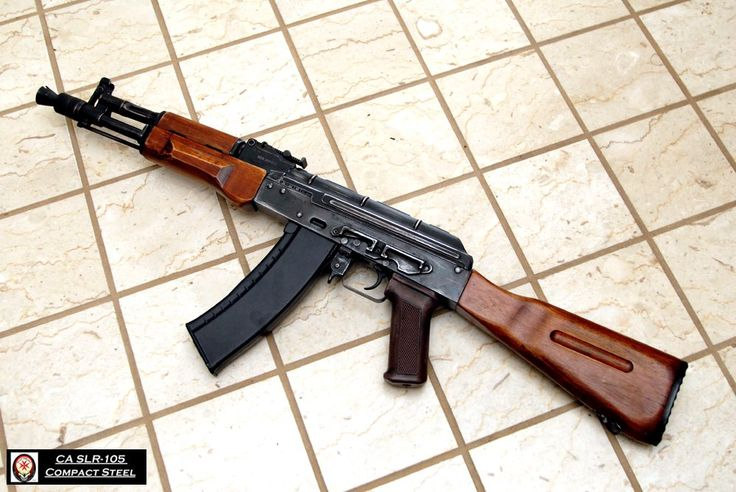 Ak 105 with wood furniture :D