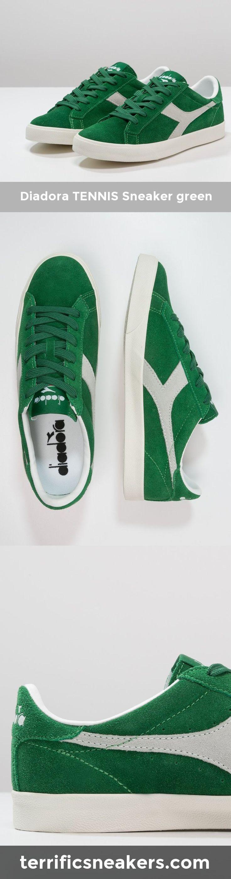 awesomeness... Diadora TENNIS Sneaker green #Sneakers