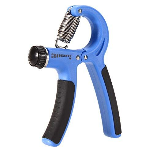 Portable Hand Gripper Adjustable Metal Heavy Grip Hand Exerciser Gripper Gym Power Training Tool Single Hand Use