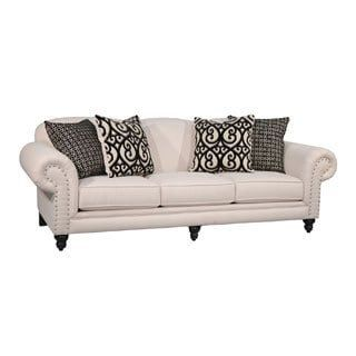 Fairmont Designs Made To Order Sydney Sofa Ivory Beige Fabric Loveseats And Furniture Outlet