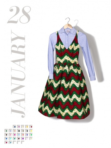 30 Days, 30 Dresses - Vogue Daily - Vogue  We love these creative looks to keep your wardrobe fresh!