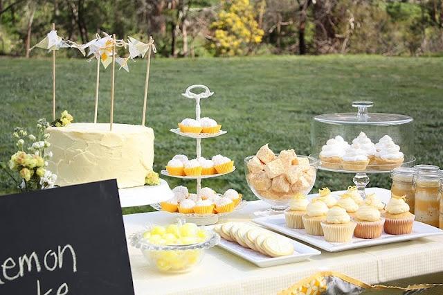 Lemon Yellow Birthday Picnic — Celebrations at Home