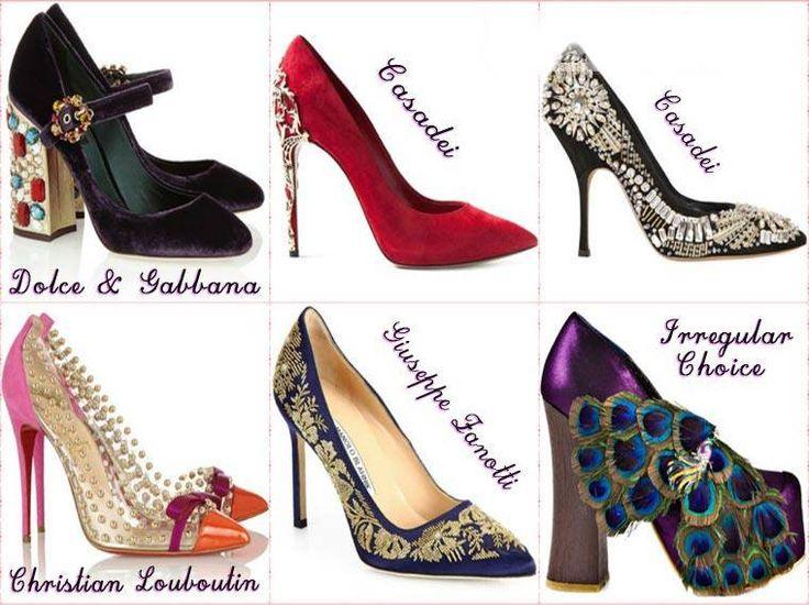 Pantofi la moda pentru petrecere primavara 2015