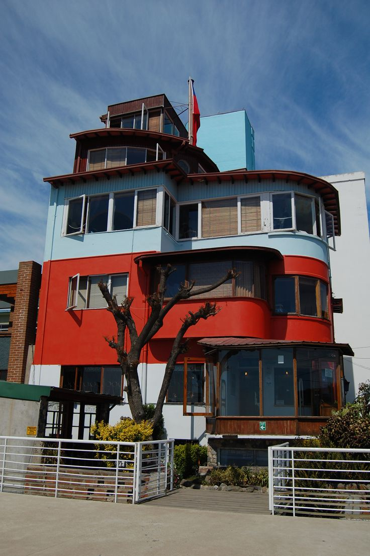 Pablo Neruda's house, Valparaiso; Chile Eureka Travel #SouthAmerica