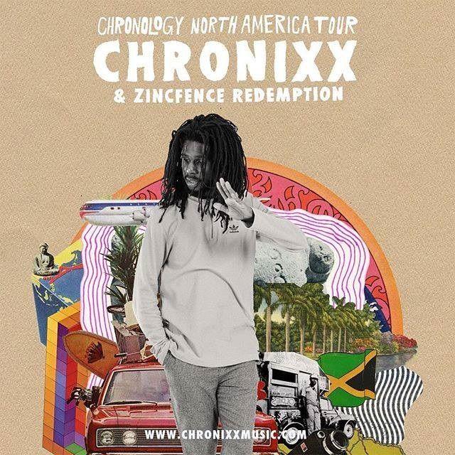 Chronixx & Zincfence Redemption - Chronology | US & Canada Tour  #Chronixx #Chronixx #Chronology #ChronologyTour #jah9 #Jah9 #JesseRoyal #JesseRoyal #Kelissa #Kelissa #ReggaeRevival #ZincfenceRedemption