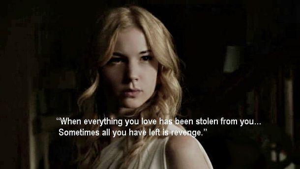 revenge tv show | Favorite TV Series Quotes on George's Show's Blog - Buzznet