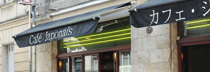 un restaurant à Bordeaux ☆ le Café japonais24 rue Saint Siméon 33000 Bordeaux Tél. : 05 56 48 68 68 contact@cafejaponais.fr