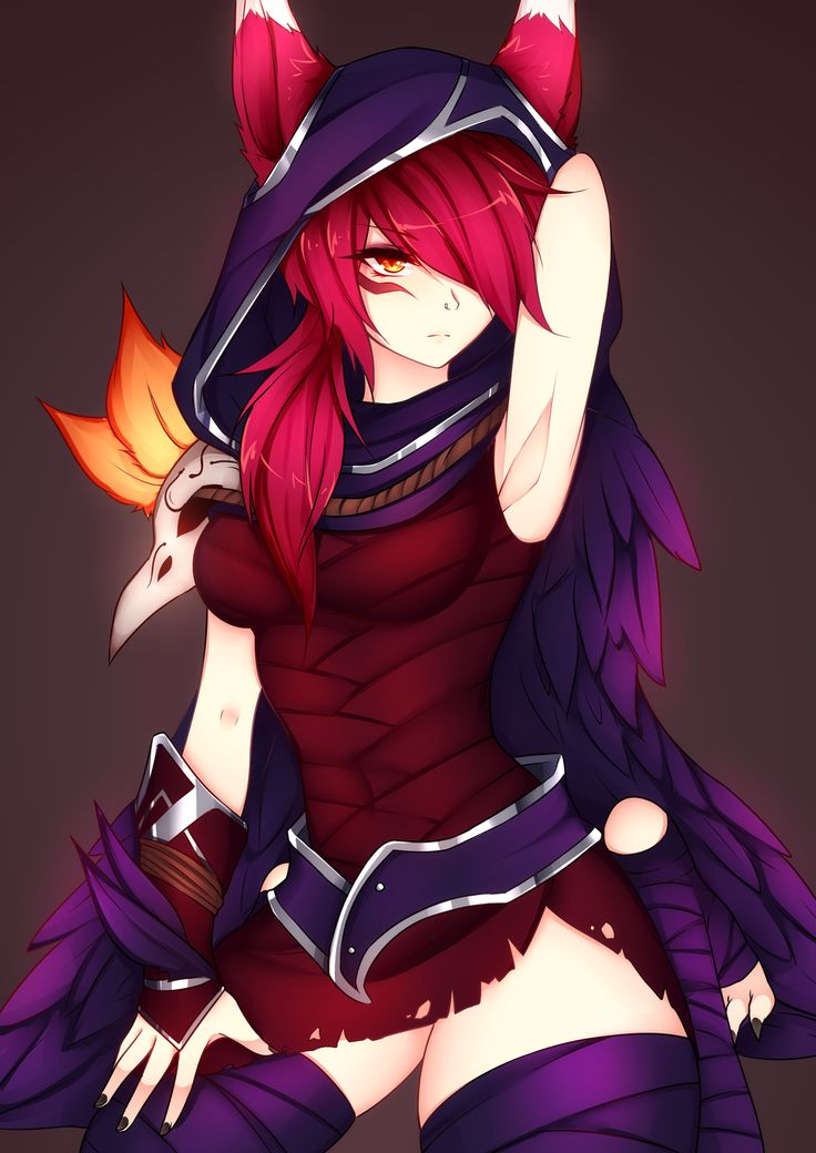 [Fanart] Xayah LoL by dirtykuro