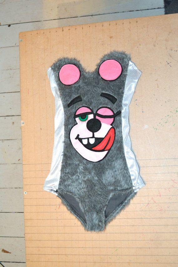 Miley Cyrus Leotard VMA's Costume Fur and by BangBangCrash