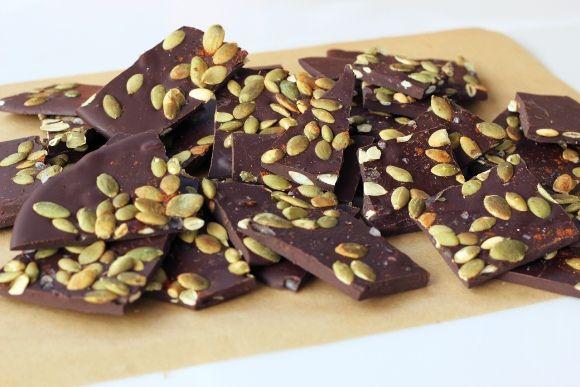 dark chocolate bark recipe