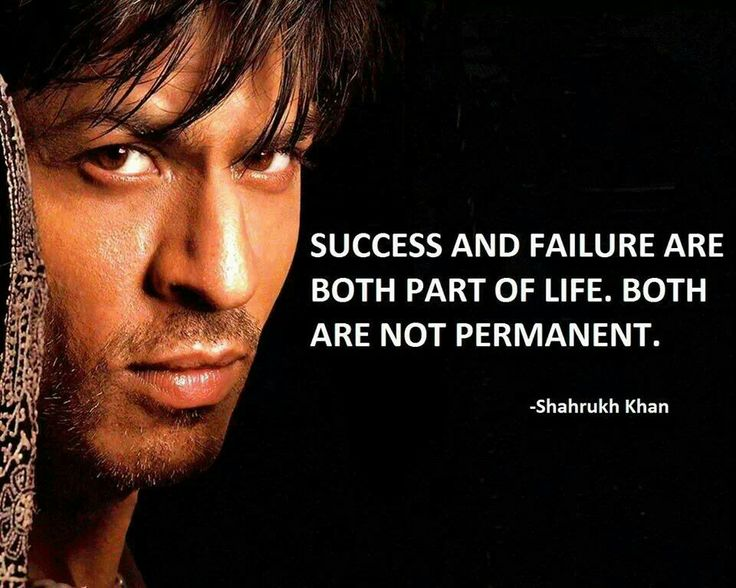 #Sucess and #Failure are part of life. Both are not Permanent!