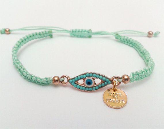 Boze oog Friendship Bracelet Macrame armband door DearTatiboo