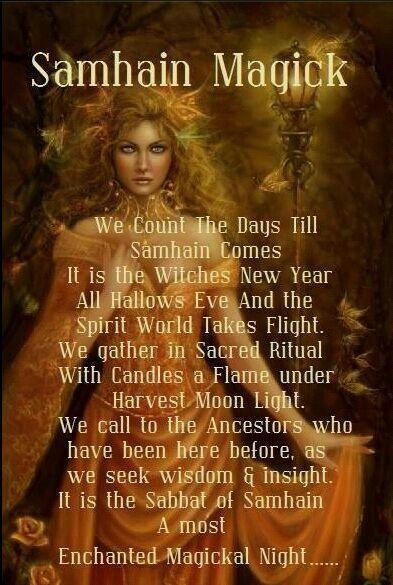 A Samhain chant/spell