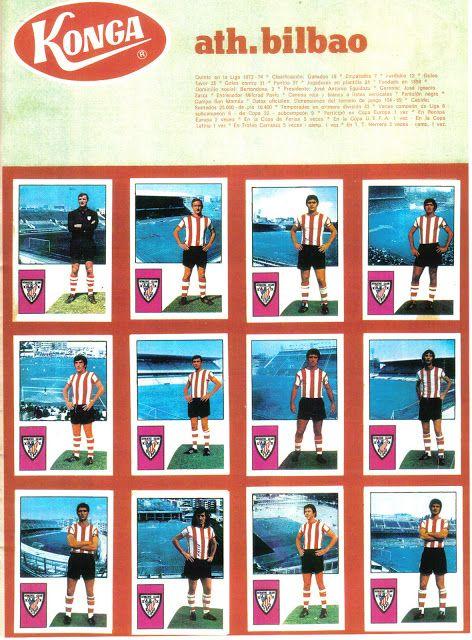 Athletic Club de Bilbao. 1974-75. Konga.