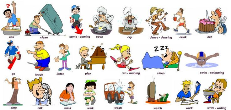 Action Verbs in English
